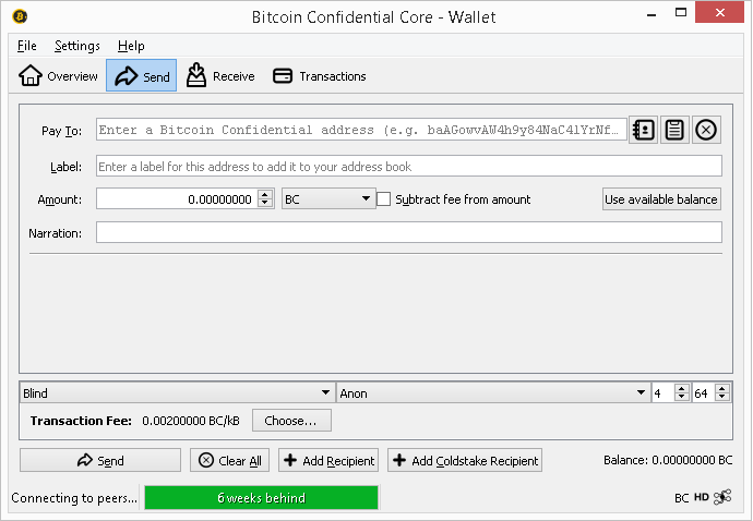 Bitcoin Confidential New Untraceable Digital Cash Coinlance -